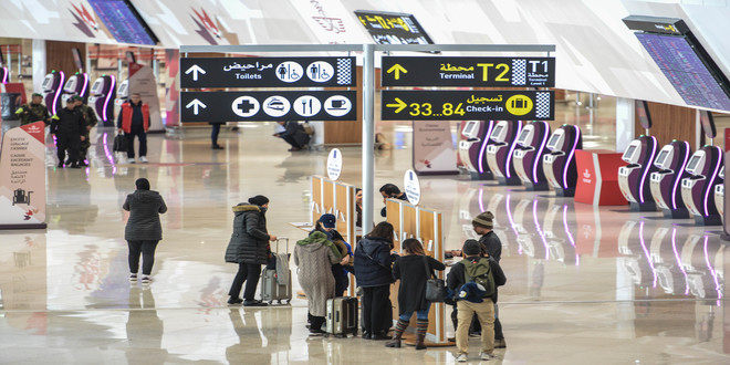 Aéroport Mohammed V: Le terminal 1 opérationnel