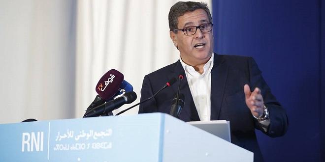 Emplois : Akhannouch en appelle au privé