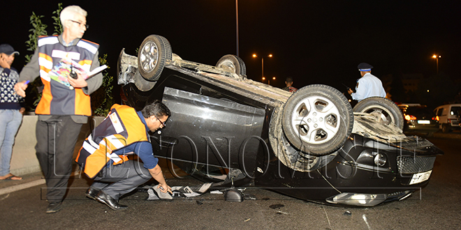 Accident : baisse du nombre de morts
