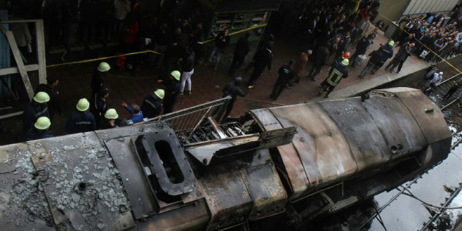 Grave accident au Caire