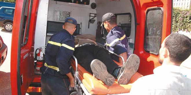 Accident mortel à Agadir