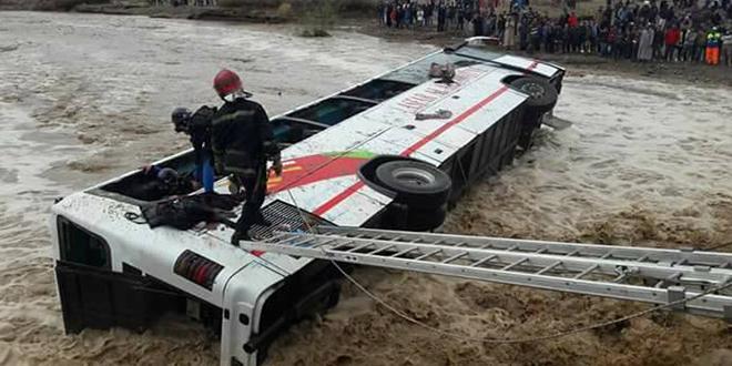 VIDEO/ 33 blessés dans un accident de bus près de Tamansourt