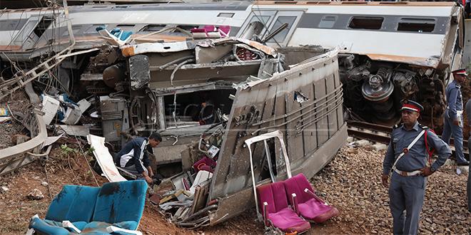 LIVE/ Accident de train à Bouknadel