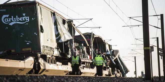 Grave accident de train au Danemark
