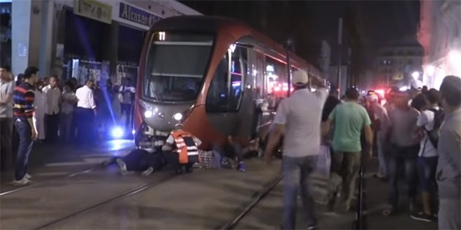 Casablanca : Nouvel accident de tramway