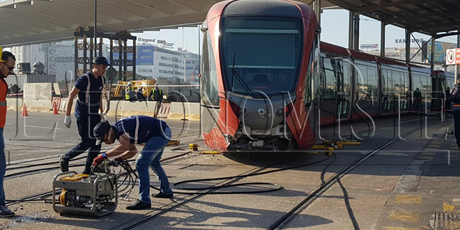 Casablanca : Encore un accident de tramway