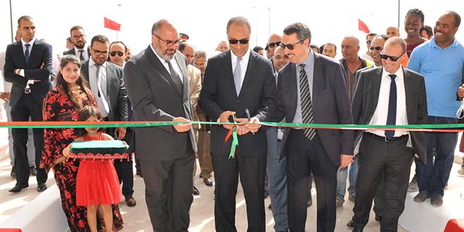 L'échangeur Mohammedia Centre ouvert
