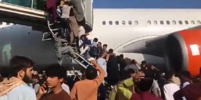 Afghanistan: Chaos général à l'aéroport de Kaboul