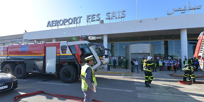 L'aéroport Fès-Saïss décroche la certification aérodrome