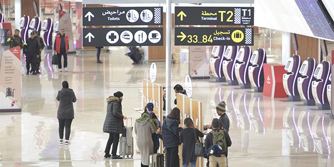 Aéroports: Le trafic passagers progresse de 12% à fin juillet