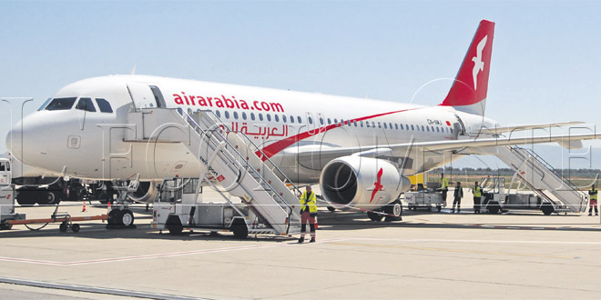 Air Arabia Maroc dévoile son programme de vols internationaux