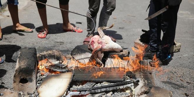 Rabat: Interdiction de la grillade des têtes de mouton dans l'espace public