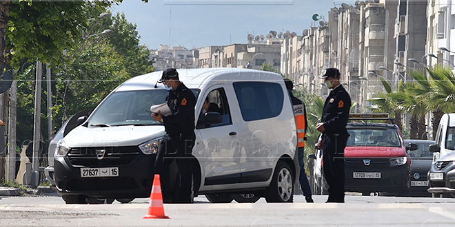 Casablanca: Des quartiers entièrement barricadés