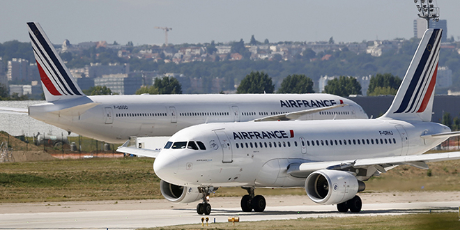 Covid-19: la Chine suspend les vols Air France