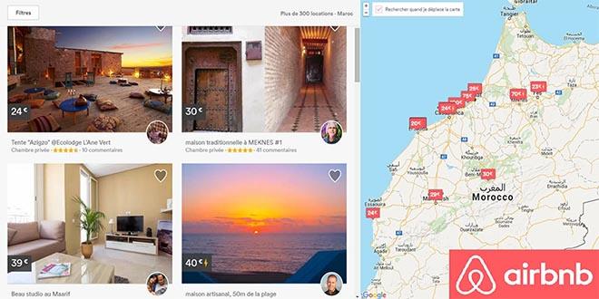 Le Maroc, 2e marché africain d'Airbnb