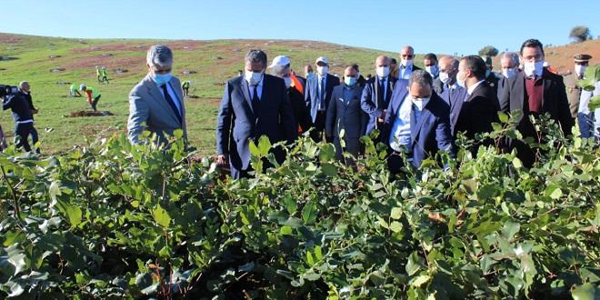 Agriculture: Akhannouch lance de nouveaux projets à Khénifra