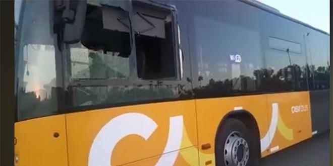DIAPO/ Casablanca: Les nouveaux bus déjà vandalisés