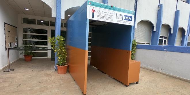 Casablanca: La Fac de médecine développe un prototype de tunnel de désinfection