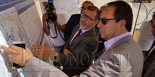 Routes: Amara s'enquiert des travaux à Taounate et Moulay Yacoub