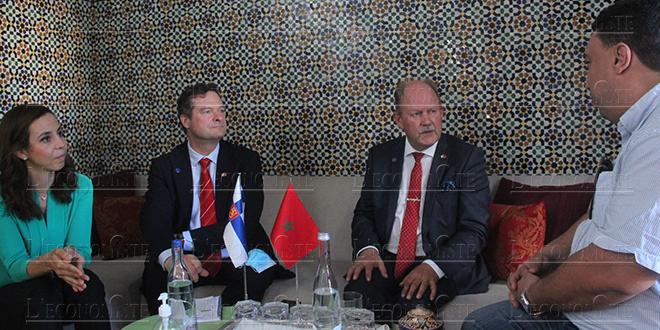 Audio-Consulat honoraire de Finlande à Fès, l'Ambassadeur Finlandais s'exprime