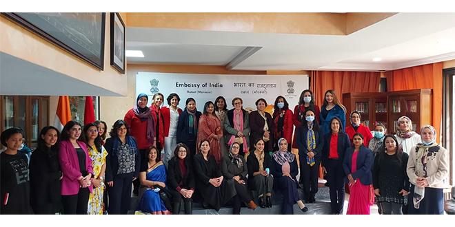 Rabat: L'ambassade de l'Inde célèbre les femmes