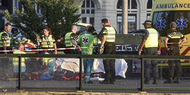 L'attentat d'Amsterdam n'en était pas un