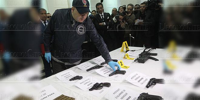 Rabat : Des armes à feu dissimulées dans un appartement