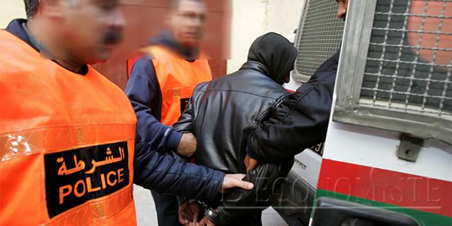 Terrorisme: Cinq personnes arrêtées à Tanger