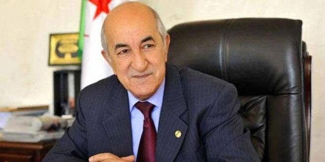 Algérie: le nouveau président a prêté serment
