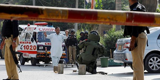 Attaque contre un consulat chinois au Pakistan