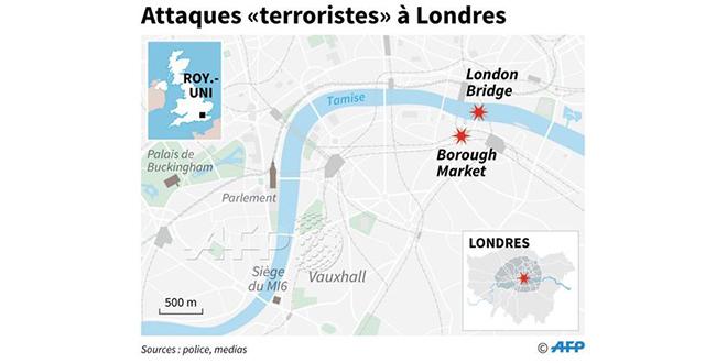 Londres touchée par plusieurs attaques