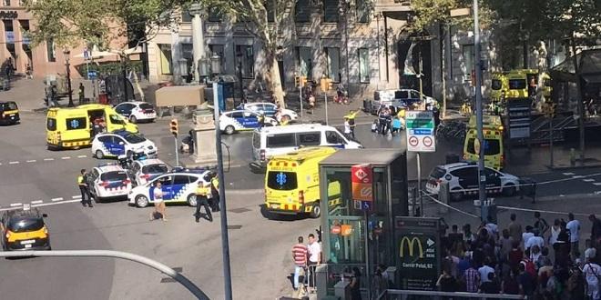 Attentat de Barcelone : Au moins 13 morts