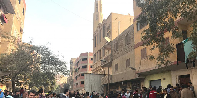 Egypte : Attaque contre une église copte