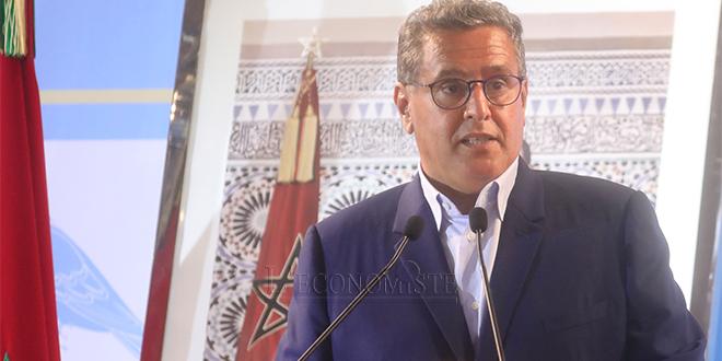 """Akhannouch: """"Le programme gouvernemental aspire à réaliser une transformation économique et sociale"""""""