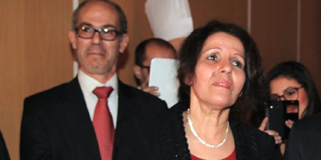 Bahia Amrani, présidente de la FMEJ