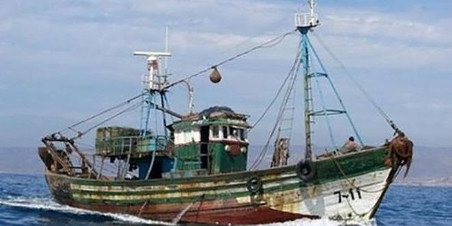 bateau de peche maroc