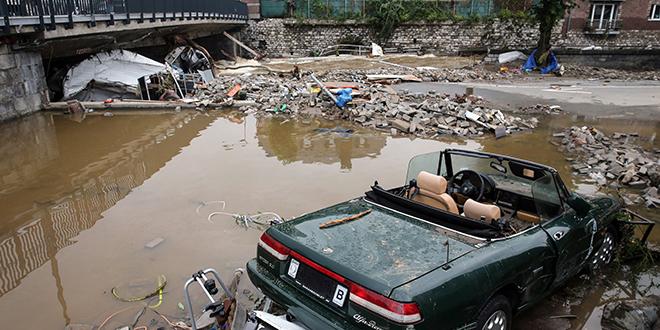Inondations : La Belgique décrète un jour de deuil national