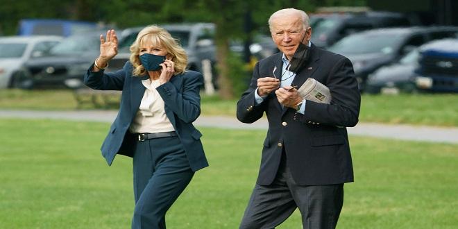 Biden s'envole pour le Royaume-Uni