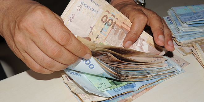 Le dirham baisse face à l'euro