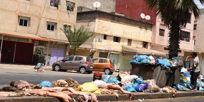Casablanca: Près de 28.000 tonnes de déchets collectées durant l'Aïd
