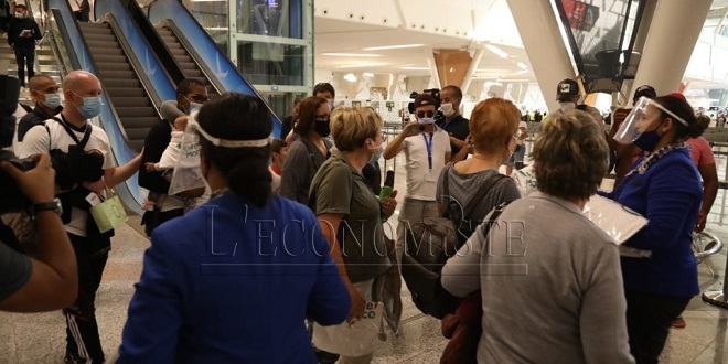 DIAPO/ Les premiers touristes étrangers reviennent à Marrakech