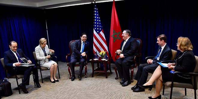 Washington : Bourita et Lalla Joumala discutent avec Pompeo