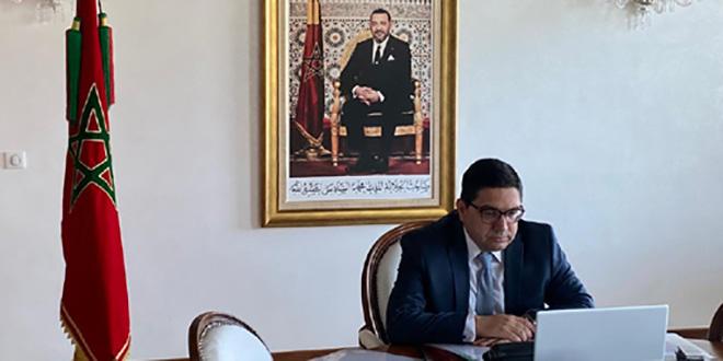 Bourita s'entretient avec le Secrétaire général de l'OMT