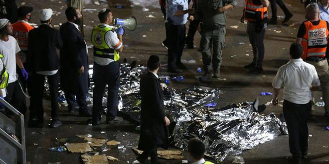 Israël: au moins 44 morts et des dizaines de blessés lors d'un pèlerinage juif
