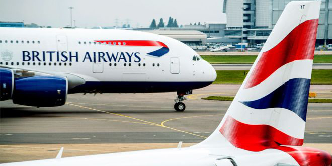 British Airways annule près de 100% de ses vols