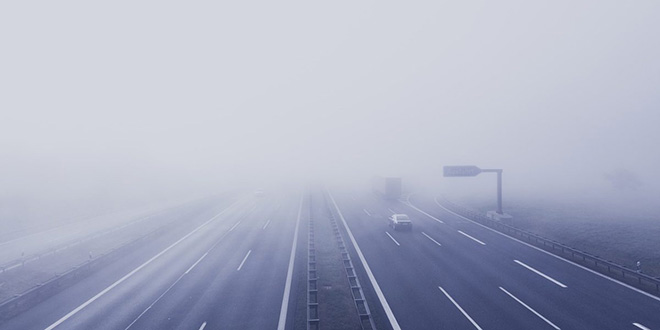 Autoroutes: Attention au brouillard !