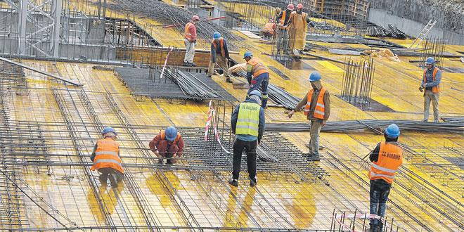 Construction: Les anticipations des patrons au 3e trimestre