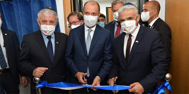 Inauguration du bureau de liaison d'Israël à Rabat