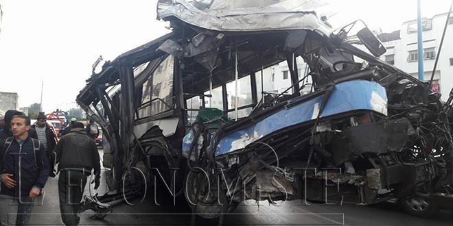 DIAPO-Casablanca: un bus fauche plusieurs piétons