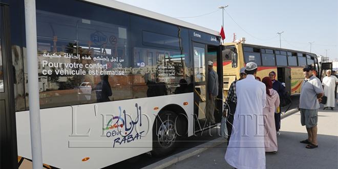 Rabat: Certaines lignes de bus suspendues